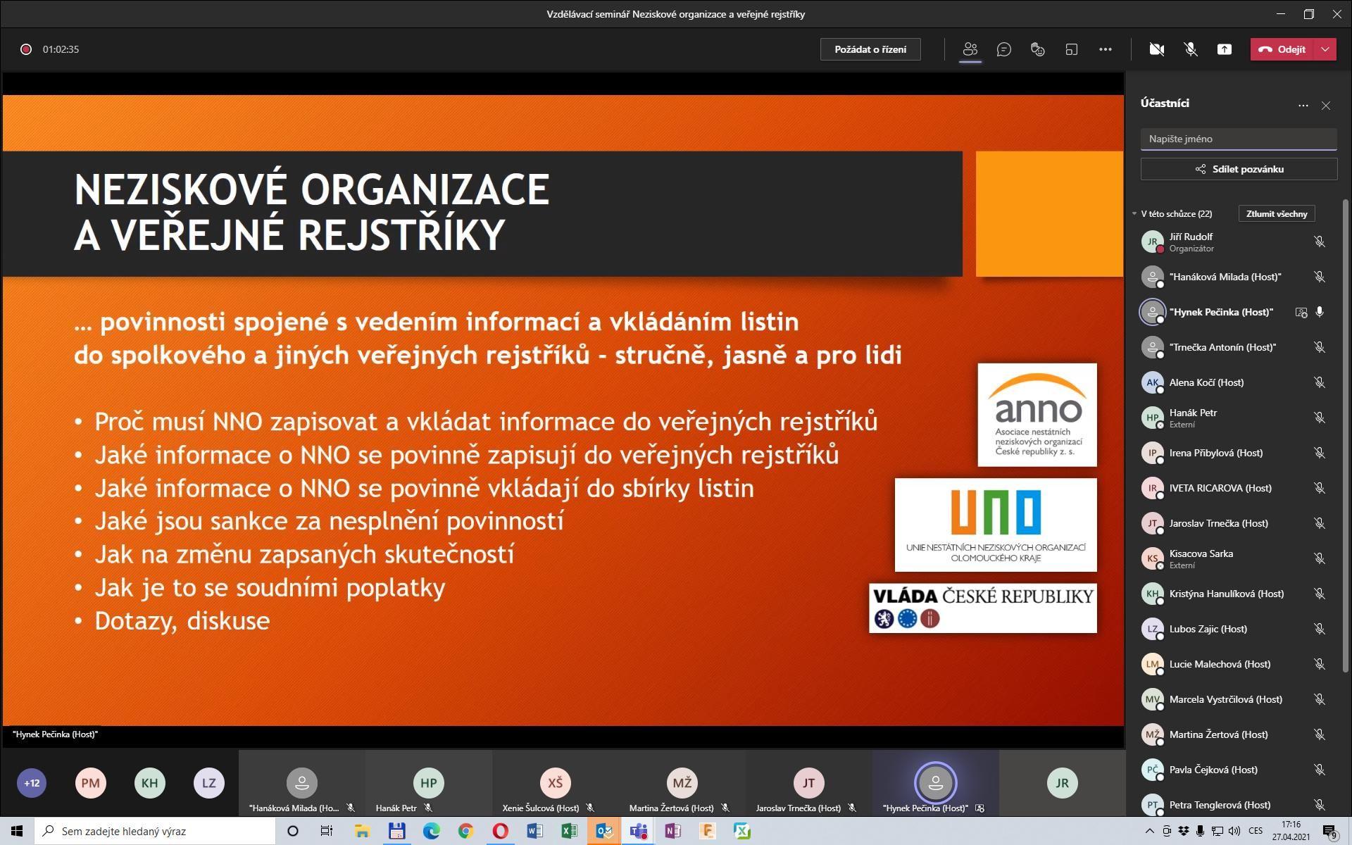 Seminář UNO printscreen 01
