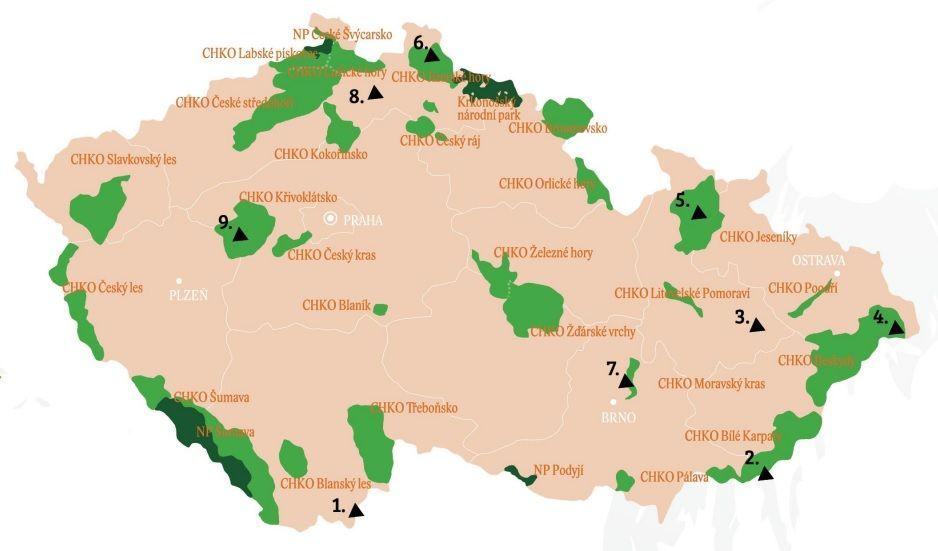 mapa duha