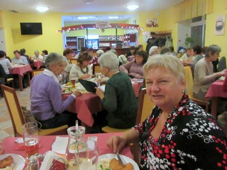 Členská schůze dne 7. prosince v restauraci Senimo