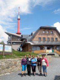 5 Rekondice 2017 -  účastnice výstupu na Lysou horu