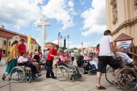 Mezinárodní setkání vozíčkářů na Velehradě