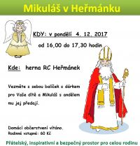 Mikuláš v Heřmánku