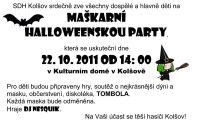 Halloween plakat